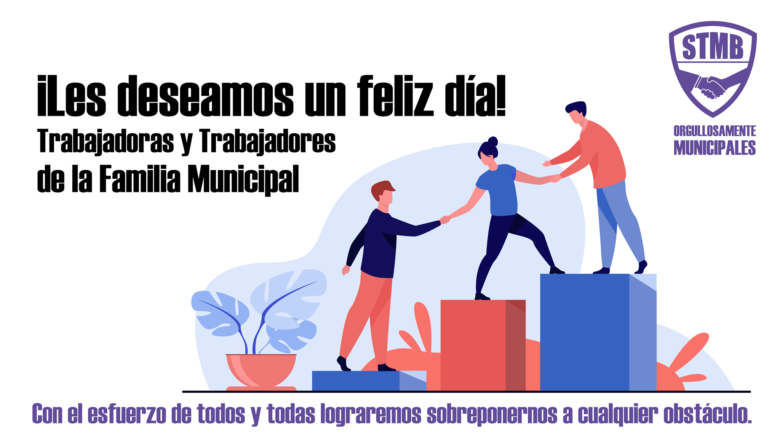 EL STMB SALUDA A TODOS LOS TRABAJADORES/AS DE BERAZATEGUI