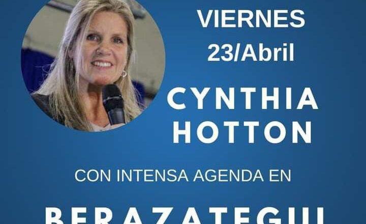 CYNTHIA HOTTON VISITO BERAZATEGUI