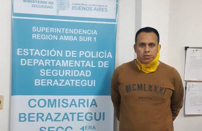 DETUVIERON AL AGRESOR DE LA OFICIAL GALARZA